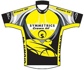 Symmetrics (cycling team) - Image: Symmetrics jersey