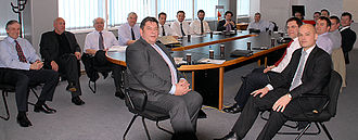 Turbo Dispatch - Delegates at a standards meeting 2006 at BT Transcomm's Heathrow headquarters