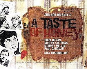 A Taste of Honey (film) - UK release window card