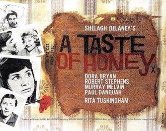 A Taste of Honey (film) - UK release window card