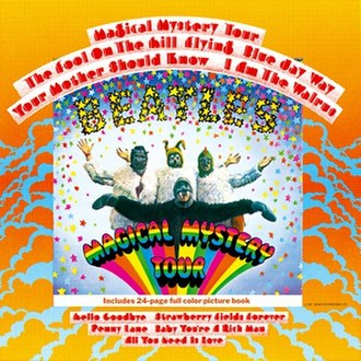 Magical Mystery Tour - Image: The Beatles Magical Mystery Touralbumcover