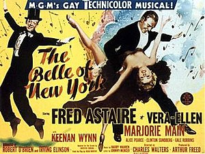The Belle of New York (1952 film) - Theatrical release poster