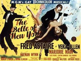 <i>The Belle of New York</i> (1952 film) 1952 American film by Charles Walters