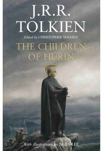 The Children of Húrin - Front cover of hardback edition