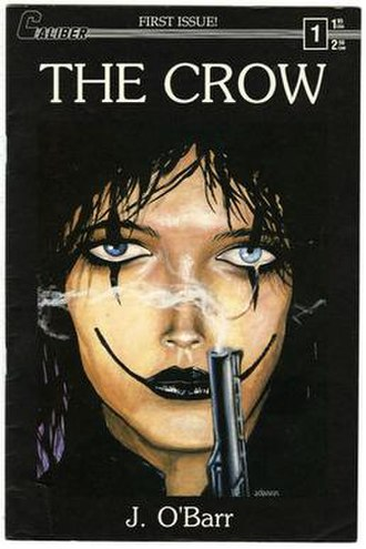 The Crow - Image: The Crow 1 Cover