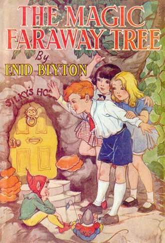 The Magic Faraway Tree (novel) - First edition cover by Dorothy M. Wheeler