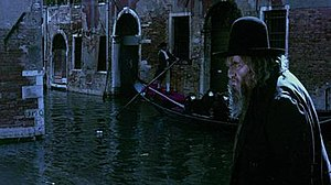 The Merchant of Venice (1969 film) - A screenshot of the restored film, depicting Shylock