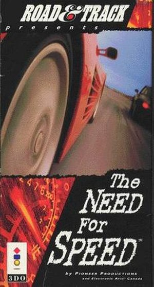 The Need for Speed - Image: The NFS Video cover