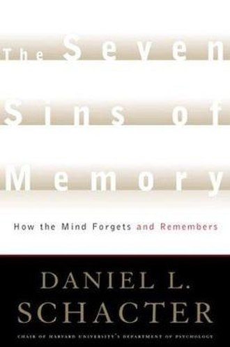 The Seven Sins of Memory - Image: The Seven Sins of Memory
