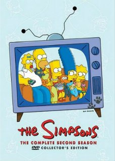 <i>The Simpsons</i> (season 2) Episode list for season of animated series