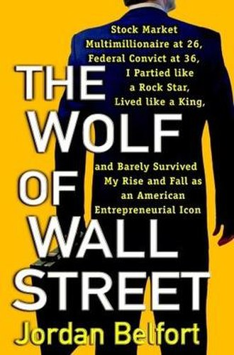 The Wolf of Wall Street (book) - Image: The wolf of wall street bookcover