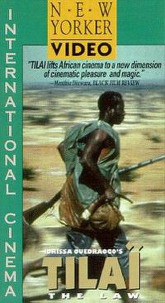 Tilaï - VHS cover