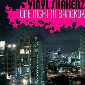One Night in Bangkok - Image: Vinyl Bangkok single cover