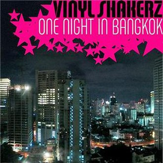 One Night in Bangkok - Image: Vinyl Bangkok single cover