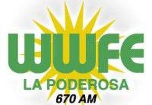 WWFE - Image: WWFE La Poderosa 670 logo