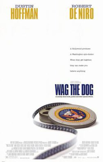 Wag the Dog - theatrical release poster