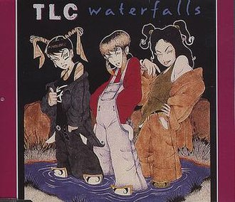 Waterfalls (TLC song) - Image: Waterfalls by TLC US CD maxi single