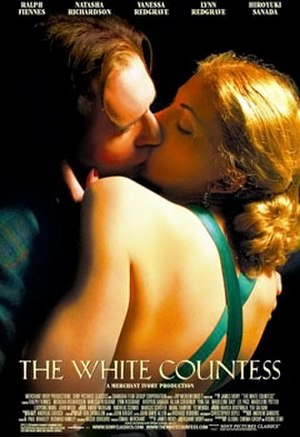 The White Countess - Original poster