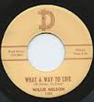 What a Way to Live (song) - Image: Willie Nelson What a Way to Live