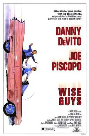Wise Guys (1986 film) - Theatrical release poster