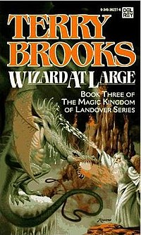 Cover to Wizard At Large