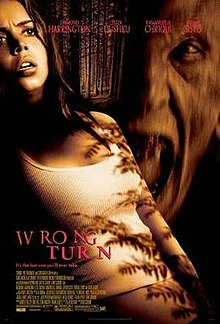 Wrong Turn (2003) [English] SL DM - Desmond Harrington, Eliza Dushku, Emmanuelle Chriqui and Jeremy Sisto