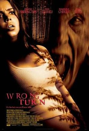 Wrong Turn - Theatrical release poster