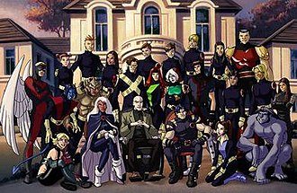 X-Men: Evolution - The entire X-Men roster seen in the series finale