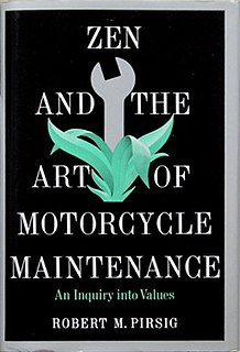 <i>Zen and the Art of Motorcycle Maintenance</i> book by Robert M. Pirsig