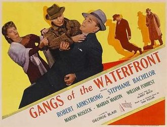 "Gangs of the Waterfront - Image: ""Gangs of the Waterfront"" (1945)"