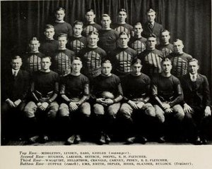 1920 Illinois Fighting Illini football team - Image: 1920 Illinois Fighting Illini football team