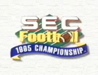 1995 SEC Championship Game - 1995 SEC Championship logo.
