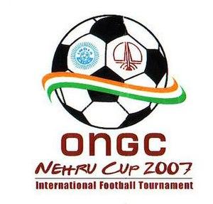 2007 Nehru Cup - Image: 2007 ongc nehru cup logo