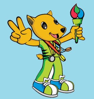 2010 Malaysian Paralympiad - The Official Mascot