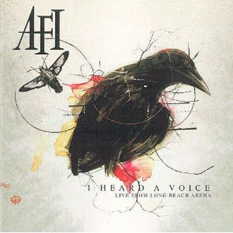 I Heard a Voice – Live from Long Beach Arena - Image: AFI I Heard a Voice cover