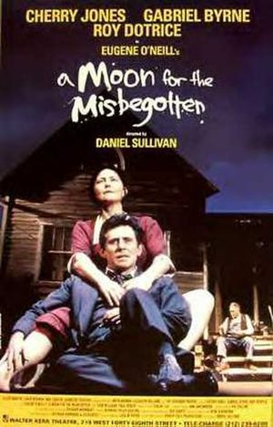 A Moon for the Misbegotten - Poster for the 2000 Broadway revival
