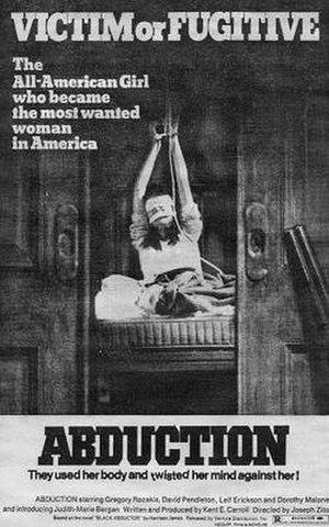 Abduction (1975 film) - Image: Abduction (1975 movie poster)