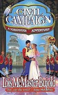 <i>A Civil Campaign</i> novel by Lois McMaster Bujold