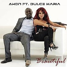 musica beautiful / akon feat.dulce mara