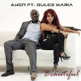 Beautiful (Akon song) - Image: Akon ft. Dulce Maria