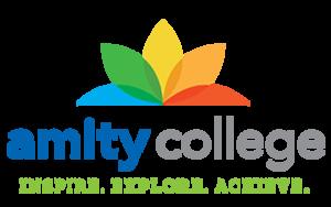 Amity College - Image: Amity College Logo