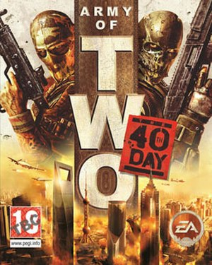Army of Two: The 40th Day - Image: Army of Two The 40th Day
