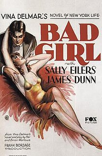 <i>Bad Girl</i> (1931 film) 1931 film