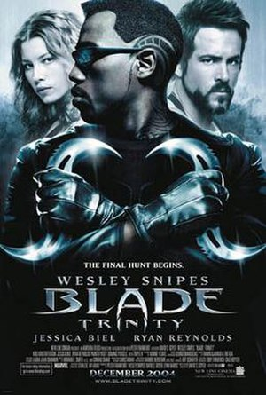 Blade: Trinity - Theatrical release poster