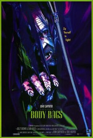 Body Bags (film) - Theatrical release poster