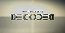 brad metzers decoded