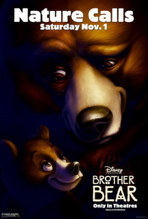 <i>Brother Bear</i> 2003 American animated comedy-drama film produced by Walt Disney Feature Animation