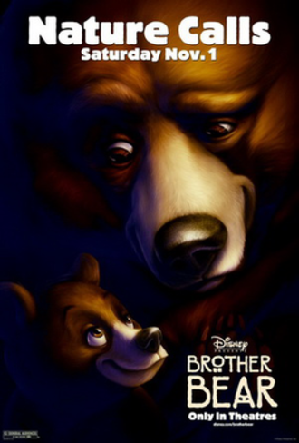 Brother Bear - Promotional poster