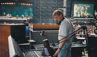 Bruce Jackson (audio engineer) - Jackson in 1985 mixing sound at Wembley Stadium for Bruce Springsteen
