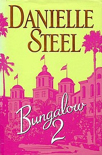 <i>Bungalow 2</i> novel by Danielle Steel